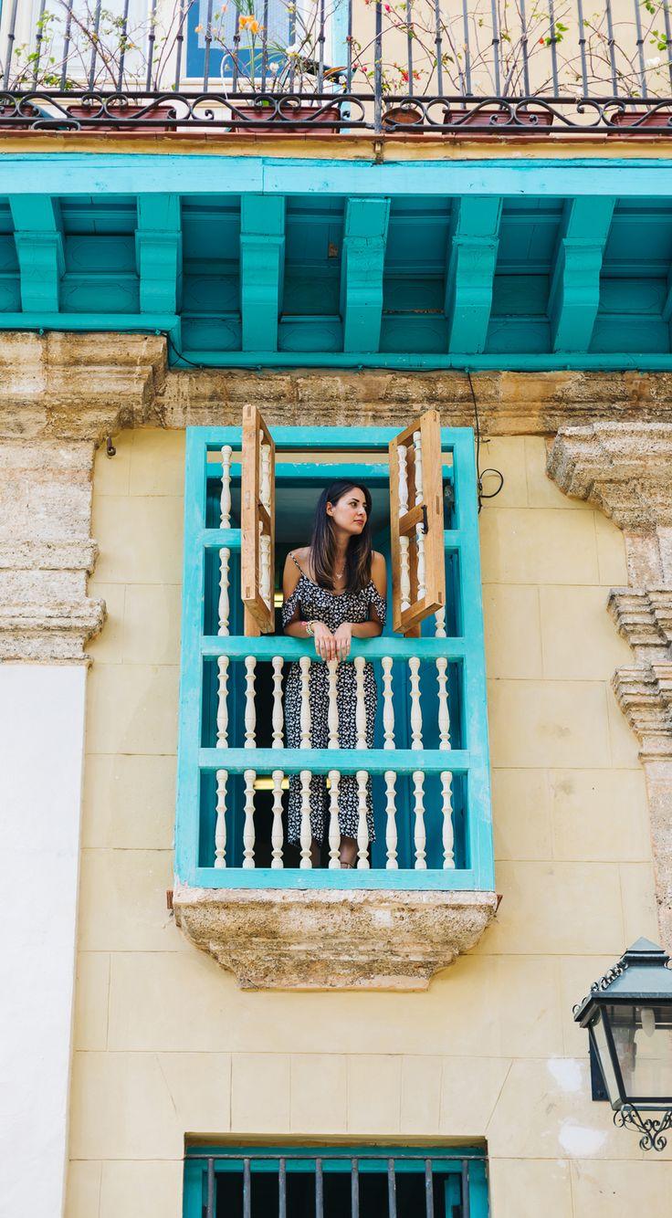 Our cute Airbnb in Old Havana, Cuba