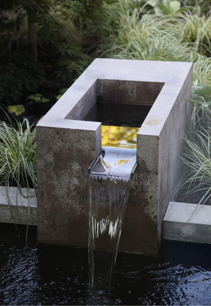15 Fountain Ideas For Your Garden Modern Landscape Design Modern Landscaping Water Features In The Garden