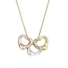 Tiffany & Co Elsa Peretti Open Heart Necklace...each heart for the 3 boys in my life ❤️