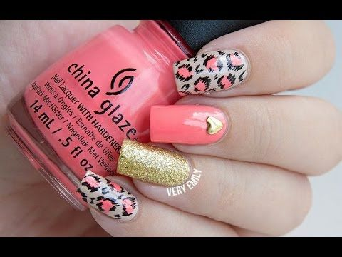 Uñas Decoradas 2015 - YouTube