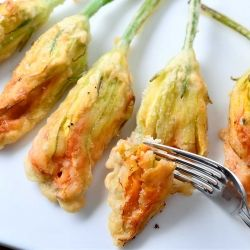 zucchini blossoms stuffed with ricotta recipe zucchini blossoms ...