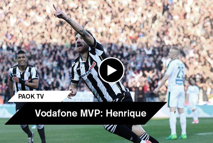Ήταν ο άνθρωπος που άνοιξε τον δρόμο για την άνετη επικράτηση του Δικεφάλου στο ντέρμπι της Τούμπας. Ο Πέδρο Ενρίκε ανακηρύχθηκε από τους εκπροσώπους του Τύπου που βρέθηκαν στο γήπεδο της Τούμπας ως ο Vodafone MVP της αναμέτρησης και μίλησε στην κάμερα του PAOK TV αφού παρέλαβε το βραβείο του.