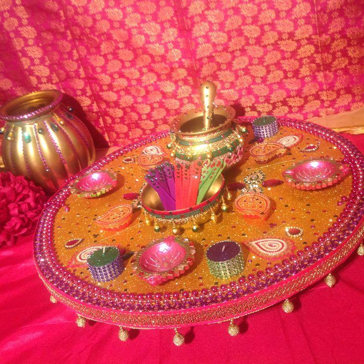 Mehndi Flower Plates : Best images about mehndi plates on pinterest
