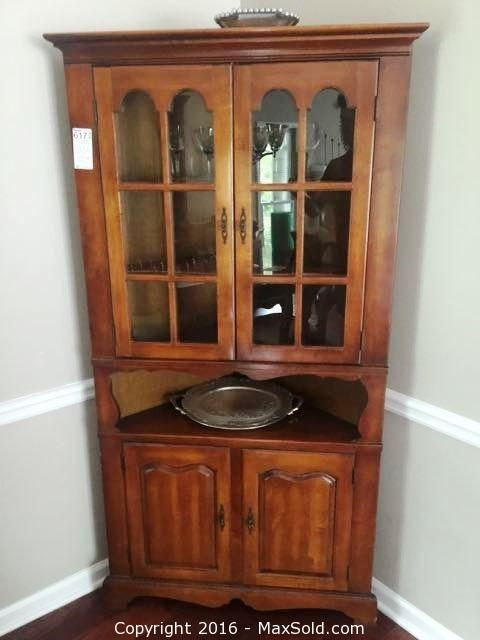 Maple Corner Hutch and more in Marietta Online MaxSold Auction. Bid online now!