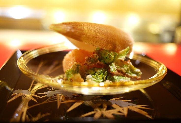 筍とふきのとうの天ぷら