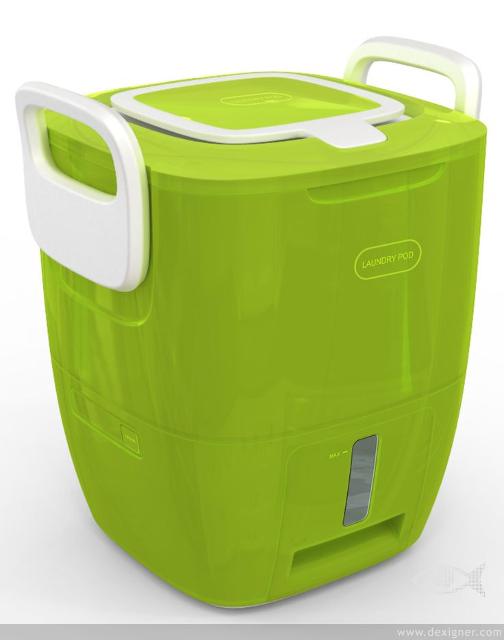 Laundry POD - let's you wash small loads of laundry without electricity or water hookups.