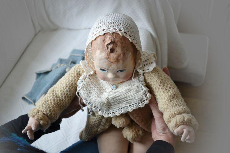 Een nieuwe babypop haar naam is Joopie  (door: Nelleke Hoffland)