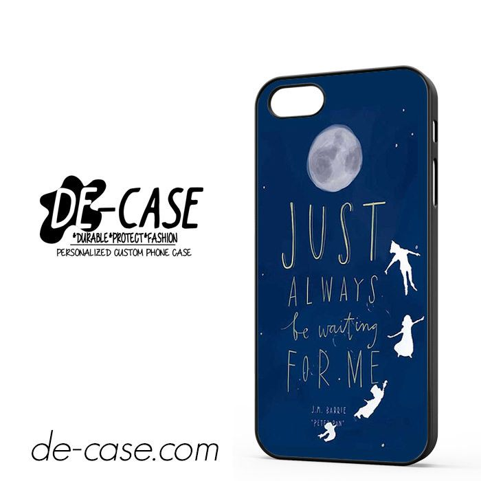 Peter Pan Quote Blue Sky DEAL-8562 Apple Phonecase Cover For Iphone - new enterprise blueprint apple