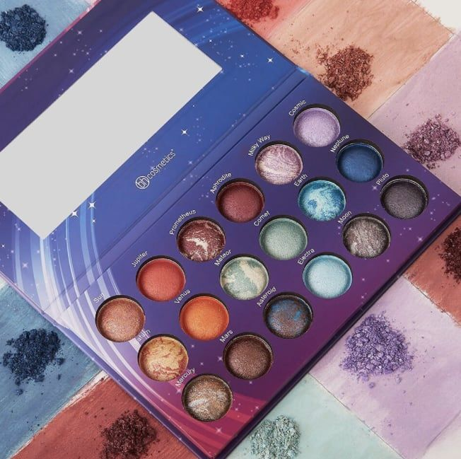 "This vegan, cruelty-free palette is a must for any compassionate space lover.Promising review: ""This palette is absolutely gorgeous and the colors are SO pigmented! When this is empty I will definitely it buy again! I've received so many compliments on it. If anyone has used the wet brush application, I would highly suggest it with this palette. It's glittery so it goes on perfectly with water. I love this!"" —Mariah BrownGet it from Amazon for $18.82 or BH Cosmetics for $15.99."