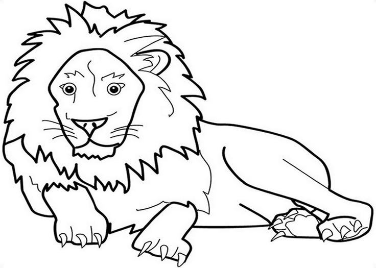 Zoo Animals Kids Coloring Pages With Free Colouring Pictures To Print Lion Coloring Pages Zoo Coloring Pages Zoo Animal Coloring Pages