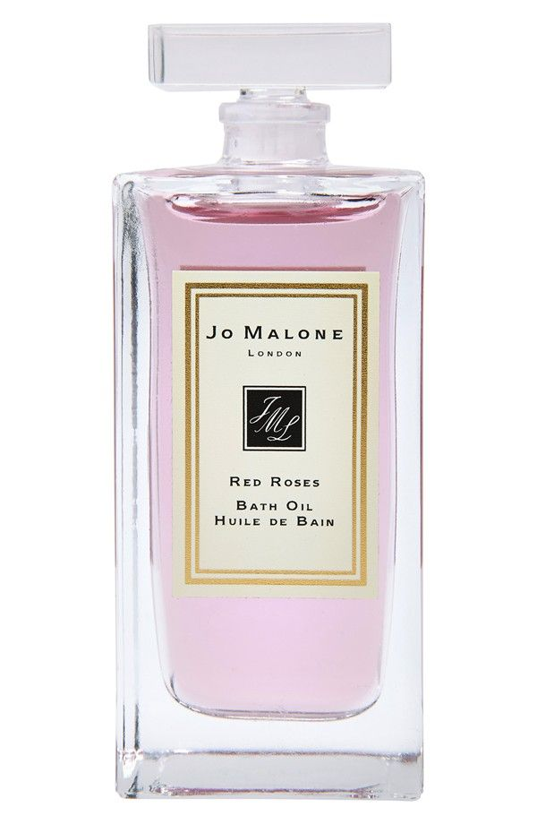 Unwinding after a long weekend to the lovely floral scent of this Jo Malone red roses bath oil.