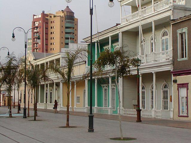 Iquique, Tarapacá Region, Chile.