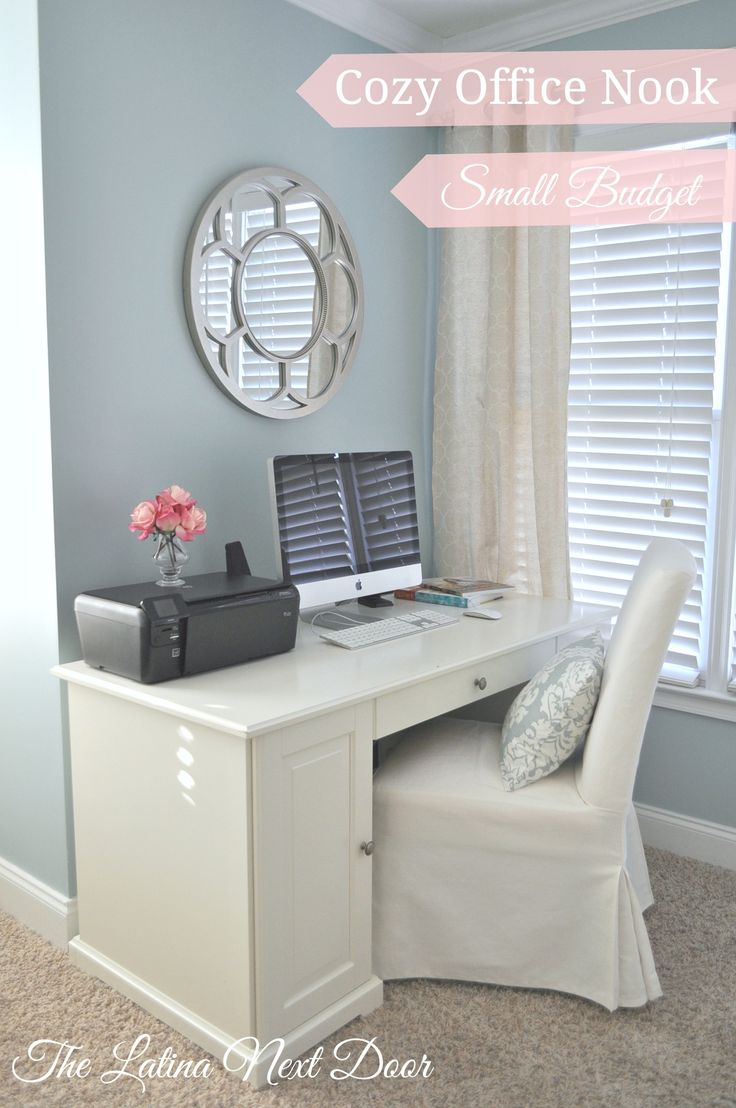 Cozy Office Nook, Small Budget