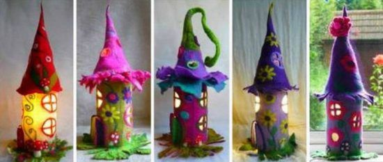 Felt Fairy Houses Are Magical And Whimsical | The WHOot