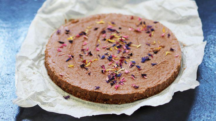 Raw sjokoladekake