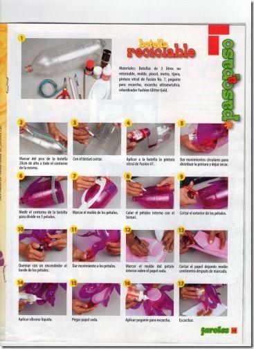 manualidades faroles de navidad de botellas recicladas   Divertidas de Navidad