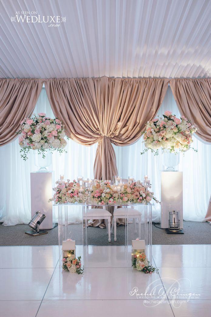 Jaw-Dropping Gorgeous Wedding Flower Ideas - Featured Event Design: Rachel A. Clingen Wedding & Event Design; Featured Photographer: MIMMO & CO; Via Wedluxe