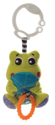 Playgro-Peek-a-Boo-Wiggling-Frog-Baby-Toy-Todder-Cot-Toy-Hiding-Game-Activity
