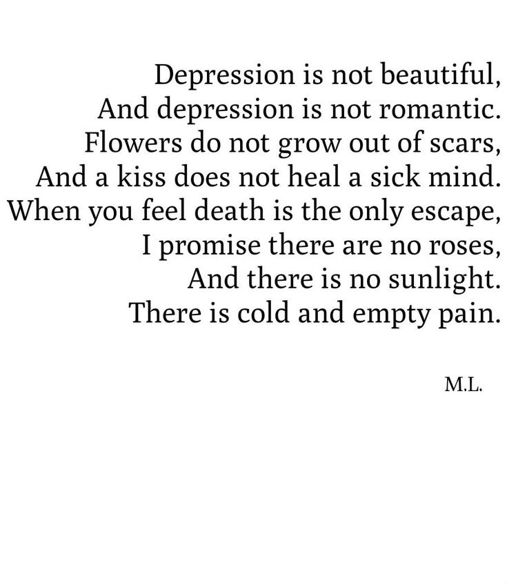 "Self harm and mental illness are NOT ""tragically beautiful"" or deep. Stop."