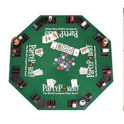 @Overstock - Take your poker nights to the next level with this folding poker table top  Makes casino and parlor games that much more fun and authentic  Poker table top seats eight player positionshttp://www.overstock.com/Sports-Toys/Party-Poker-Folding-Poker-Table-Top/3063664/product.html?CID=214117 $54.99