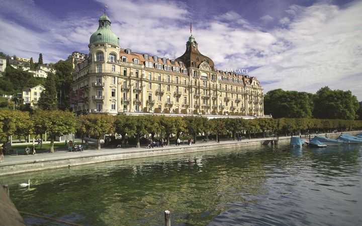 Palace Hotel Luzern and Spa