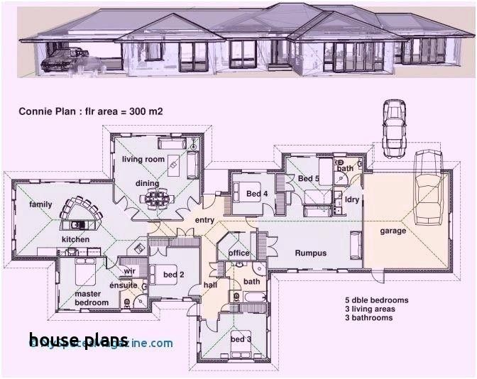 Single Story 5 Bedroom House Plans In 2020 House Plans South Africa Modern Contemporary House Plans Contemporary House Plans
