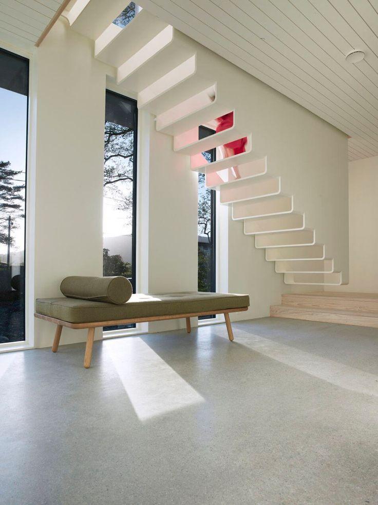 Dark Modern Home in Norway Showcases Impressive, Unusual Architecture - http://freshome.com/dark-modern-home-in-norway/