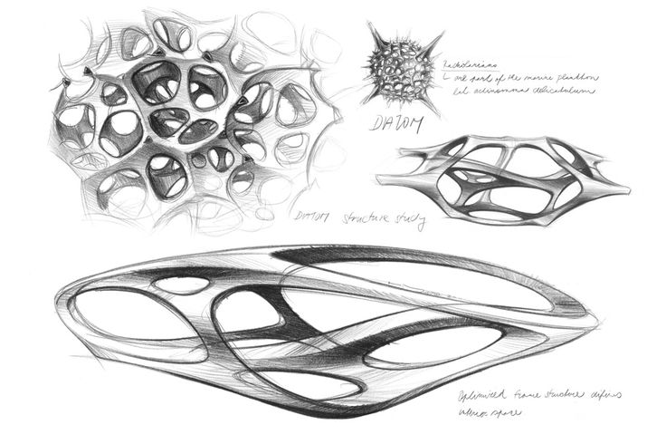 Mercedes-Benz's sculpture 'Aesthetics No. 2' - car interior research