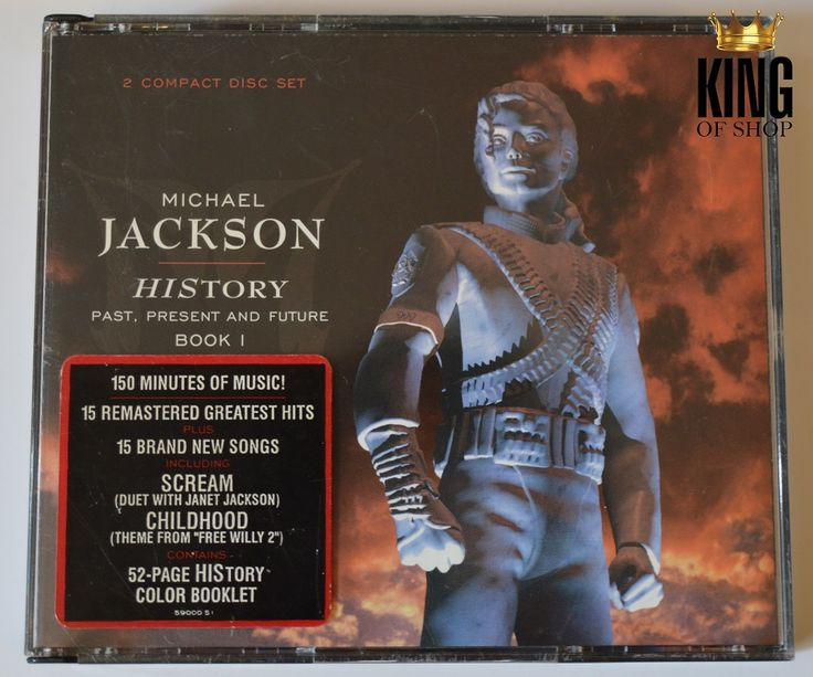 Item of the Day: HIStory US CD! http://www.king-of-shop.com/product/history-us-2xcd/