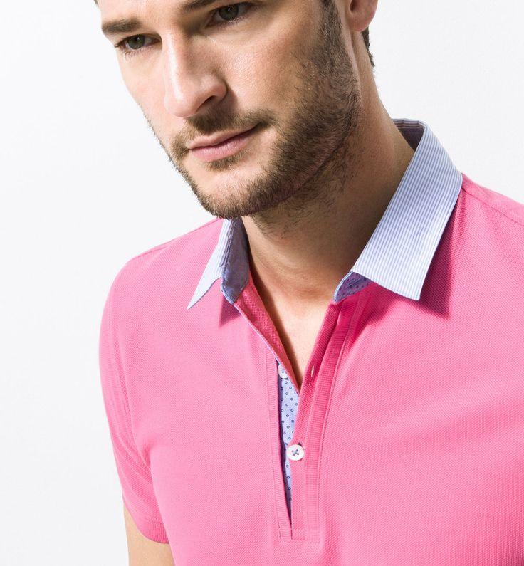 Short-Sleeved Polo Shirts - Polo shirts and T-shirts - Massimo Dutti