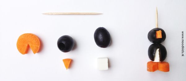 bento penguin how to make it | Moodkids