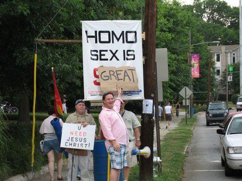 Homo sex is great, u need jesus christ!
