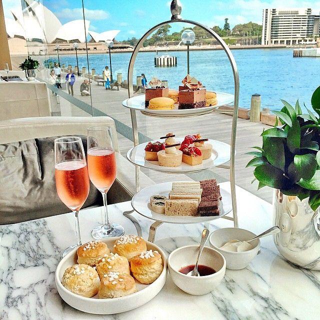 Afternoon tea and snacks at @parkhyattsydney. #MYLUXLIST | Park Hyatt