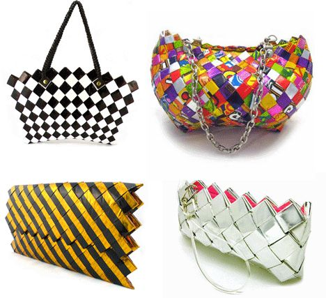 Candy wrapper purses