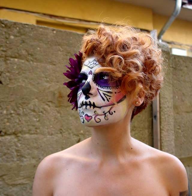 Fantasy makeup Ana Olariu