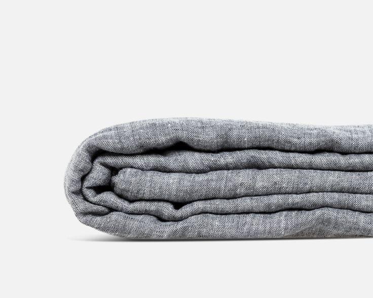 Met dit linnen dekbedovertrek creëer je een pure, relaxte sfeer in de slaapkamer en slaap je heerlijk.