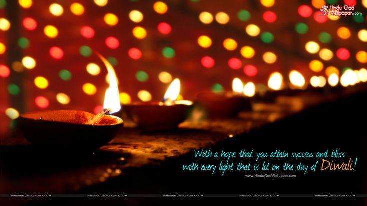 Diwali Single Diya Wallpaper