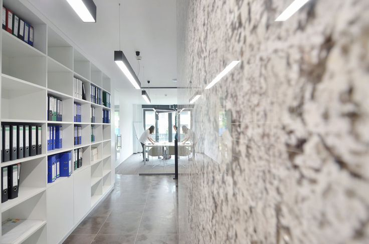Corporate offices interior design in Bucharest - #interior #interiordesign #corporate #offices #marble #wood #furniture #shelving #architecture #minimal #reflection