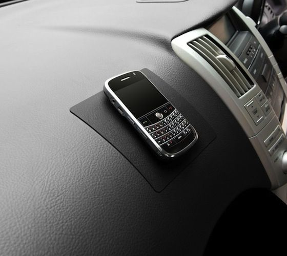 Watch how your smartphone always stays in place and never slides off from the car dashboard! #caraccessories