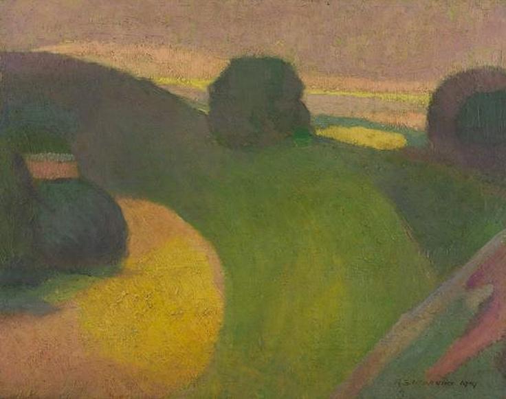 On Ball's Head, 1919, Roland Wakelin.