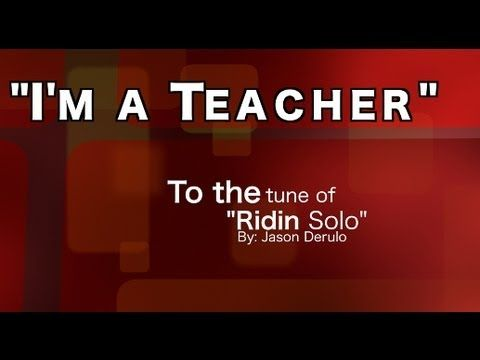 I'm a Teacher: An Educator's Anthem. Listen to the song and you might be singing this anthem for the year! Keep it as a motivator!