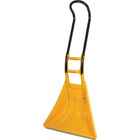 ... Temper 26-in Poly Snow Shovel with 32-in Aluminum Handle // at Lowes