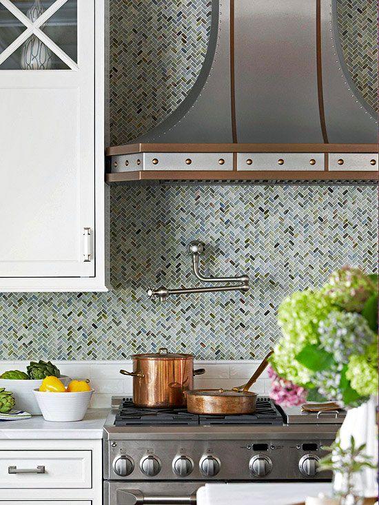 Home Depot Kitchen Backsplash Subway Tiles Herringbone Style
