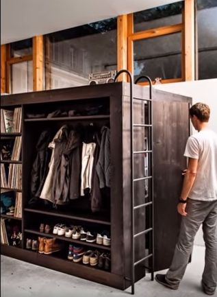 Car Crashhearts: U201cbeinx: U201c Living Cube Swiss Designer Till Könneker Moved  Into A Apartment Studio Without Storage Room. So He Made A Minimalist Cube  Design ...
