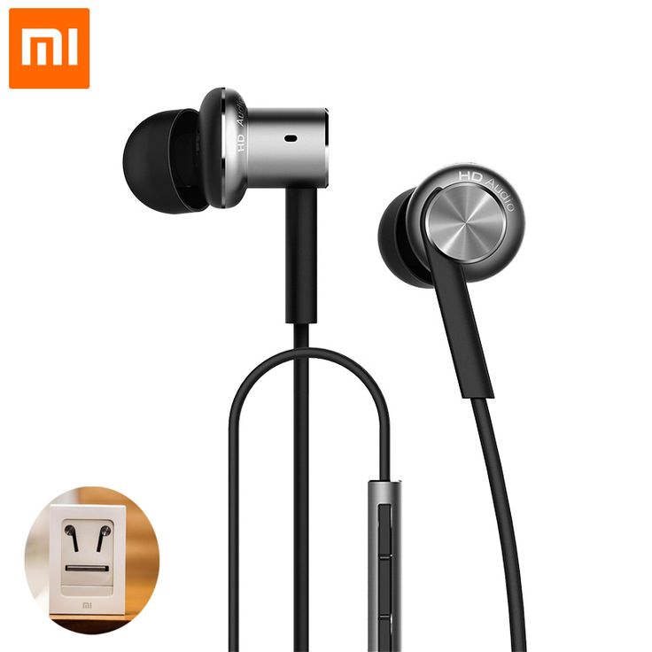 2016 Original Xiaomi Hybrid Earphone In-Ear Headset 3.5mm Mi 1 More Xiomi Piston 4 With Microphone Ear Phones Mp3 Mp4