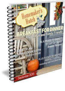 Homemaker's Hutch September Issue