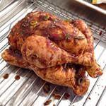 Aziatische hele kip uit de oven - Miss Gingerish