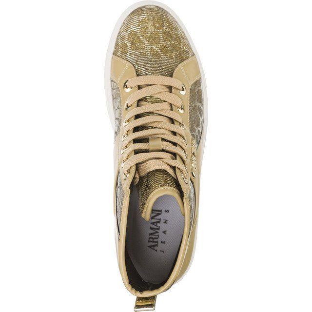 Trampki Damskie Armanijeans Armani Jeans Woven Sneaker 7p566 06250 Sneakers Armani Jeans Armani