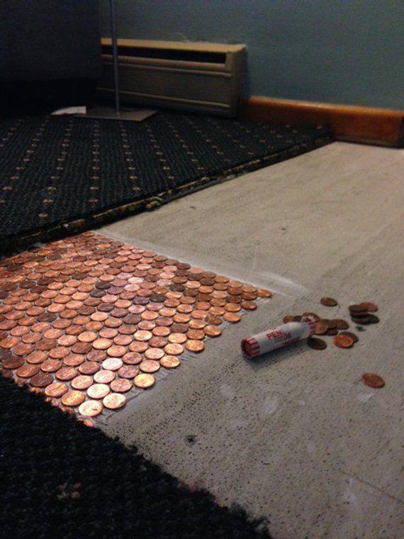 Penny Floor Template Penny Template Diy Penny Floor Penny Floor