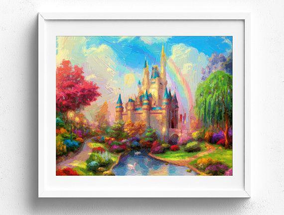 Wandkunst Disney, Disney Gemälde, Kunst, Disney, Disney Drucke, Disney Leinwand Kunst, Kunstspeicher Disney, Disney Leinwand Wand Leinwand Kunst